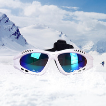 2018 kids ski goggles riding glasses outdoor climbing for children 5-12 years of professional skiing googles Single fog mirror
