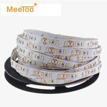 New LED Strip Light 12V 5M 300LEDS Not Waterproof Ribbon LED Tira Tape SMD 3014 W / WW / R / G / B for Living Room Decoration