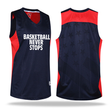 Men's Clothing Suits Sweat-absorbent Breathable Basketball Jersey and Shorts Set Custom Logo Number