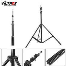 Viltrox 2.2M(86in) fold Light Stand Tripod With 1/4 Screw Head For Photo Studio Softbox Video Flash Umbrellas Reflector Lighting(China)