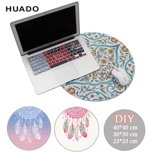 Custom Printed round mouse mat pad for dota /csgo promotion  women rubber anime muismat for league of legends/razer/lol pad