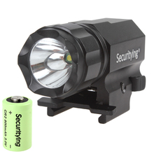 Sale SecurityIng 600 Lumens  R5 LED Tactical Gun Flashlight P05 with 3.0V 800mA CR2 Battery