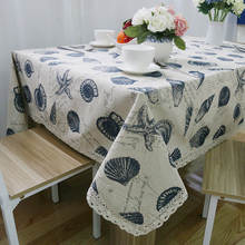 Lace Household Cloth Tablecloth Shell Simple Rectangular Home Decorate With English square tablecloth size nappe jetable mariage