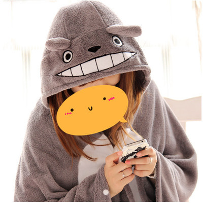 My Neighbor Totoro Lovely Cartoon shawl Tonari no Totoro Japanese Cute home Air conditioning blanket Japans most famous GH325<br><br>Aliexpress