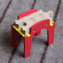 P043-2 free shipping Multi-function compatible Thomas train wood track bridge, Thomas wood track scenes necessary accessories(China)
