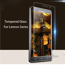 Screen Protector Tempered Glass for Lenovo A319 A2010 K3 Note S60 S90 Vibe Shot Z90 S820 S850 P780 A6000 A7000 Toughened Film(China)