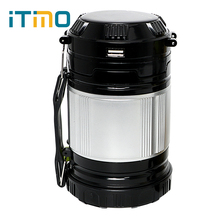 Lantern Emergency Lamp Lightweight Collapsible Hand Light Led Camping Light Portable For Hiking Camper Tent Solar Powered