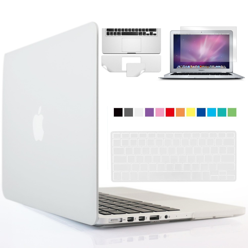 Keyboard Cover Macbook Air Pro Retina 11//12//13//15 Crystal Clear Hard Case Shell