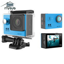 Myeye 4K Sports Action Camera 1080P HD Waterproof 170 Wide Angle High Quality Mini Camera For Outdoor Sport Activities Cameras(China)