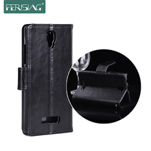 For Lenovo A2010 Case Flip Leather Cover For Lenovo A2010 A 2010 Vintage Retro Wallet Card Slot Fundas FERISING P003(China)