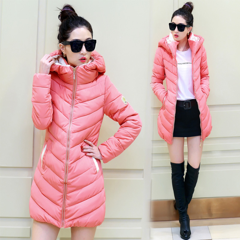 2015 new explosion of fashion leisure women coat  Korean down jacket in the long section of tidal thickeningОдежда и ак�е��уары<br><br><br>Aliexpress