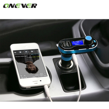 Wireless Radio FM Transmitter Car Charger LCD Diaplay Broadcasting Dual USB for Car iPhone iPod Android Samsung MP3 Player(China)