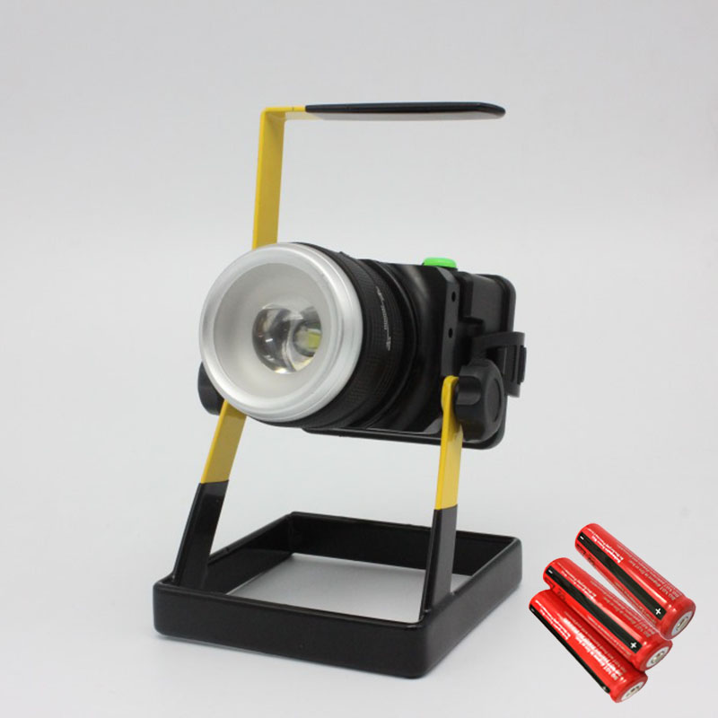 Portable 10W T6 Floodlights Movable Outdoor Lighting Camping Work Light Spot Waterproof Spotlight Flood Light Lamp<br><br>Aliexpress