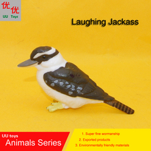Hot toys:Laughing Jackass Laughing Kookaburra bird simulation model Animals kids toys children educational props(China)