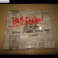 BINYEAE- New Seal: Bob Dylan-The Real Royal Albert Hall 1966 Concert 2CD light disk [free shipping](China)