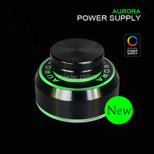 1Pc Black New Critical Aurora Tattoo Power Supply for Tattoo Machine 2 Foot Pedal Mode Free Shipping