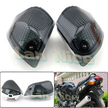 For KAWASAKI ZZR 400 600 ZX600E 1994-2004 Motorcycle Rear Turn signal Blinker Lens Smoke