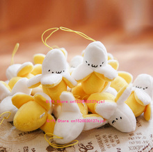 1X Super CUTE Mini 6CM Plush Stuffed Banana TOY DOLL - Bouquet Plush Toy , Lover's Gift String Plush Pendant DOLL TOY(China)