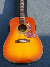 2015 New + Factory + HS Chibson Hummingbird acoustic guitar Hummingbird electric acoustic guitar 1964 double rhombic inlays
