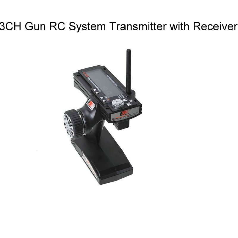 Flysky FS GT3B FS-GT3B  2.4G 3CH Gun RC System Transmitter with Receiver for RC Car Boat with LED Screen<br>