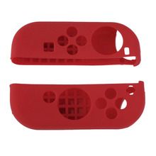 6 In 1 Soft Silicone Rubber Dustproof Cover for Nintendo Switch Joy Con Controller Protective Cover and Grips Cap Set