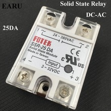 1 pc FOTEK 250V 25A SSR-25 DA Temperature Control Solid State Relay -NEW SSR-25DA 25A Good Quality Hot Promotion Wholesale