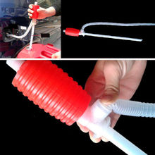 100% brand new and high quality Manual Hand Siphon Hose Liquid Gas Oil Water Transfer Hand Pump Sucker