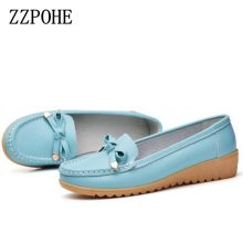 ZZPOHE spring and autumn new soft-soled casual shoes mom women large size flat shoes nurse shoes comfortable non-slip shoes Peas