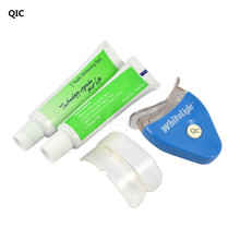 QIC Personal Dental Care Healthy White Light Teeth Whitening Gel Whitener Health Oral Care Toothpaste Kit(China)