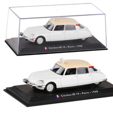 Brand New LEO 1/43 Scale Car Model Toys France 1968 Citroen ID19 Paris Taix Diecast Metal Car Model Toy For Gift/Collection(China)