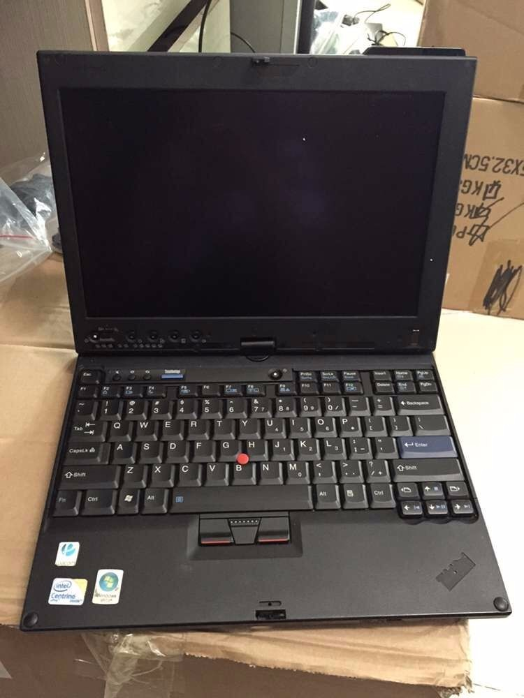 used computer price best auto diagnostic laptop thinkpad x201 tablet i7 4g touch screen second hand without hdd with battery(China)