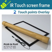 "Free Fast Shipping!!  40"" IR Touch Screen Overlay Kit Without Glass For LED/LCD Display Retail &Wholesale"
