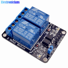 5V 2 Channel Relay Module Expansion Board For Arduino Low Level Optocoupler Triggered 2-Way Relay Switch In Stock