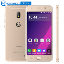 Gooweel S7 3G Smartphone MTK6580 Quad core 5.0 inch IPS Screen Face Wake mobile phone 5MP+2MP Camera GPS unlocked Cell phone(China)