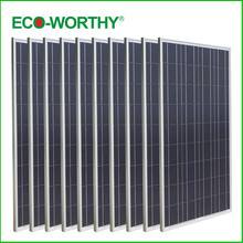 USA Stock New Style 1000W Poly Solar Panel 10*100W Solar Module 12V Home Caravan Boat Power Supply