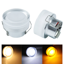 Crystal LED Downlight 3W Acrylic Recessed Ceiling Light Spot Downlight for home kitchen decoration