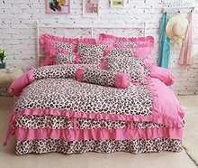 Fashion Leopard Bedding Set,Modern Leopard Print Duvet Cover,Designer Adult Bedding Set Sexy