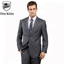 Latest Coat Pant Designs Mens Formal Wear Best Wedding Suits For Men Brand Clothing Dark Gray Tuxedos Terno Slim Prom Suits Q80(China)