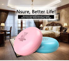 Eco-friendly ceramic disc keeping warm 5min charging 2-6 hours heat hand warmer natural heat massage design free shipping