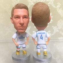 Soccerwe Football Star Dolls RM Sergio Ramos Figure 2018 Season for LA LIGA Souvenir Delicate Gift White Kit Collections(China)