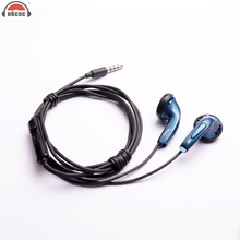 OKCSC MX500 Classical Style Wired Earphone with Microphone Sport Headset In Ear Running Earpads For xiaomi Phone Samung(China)