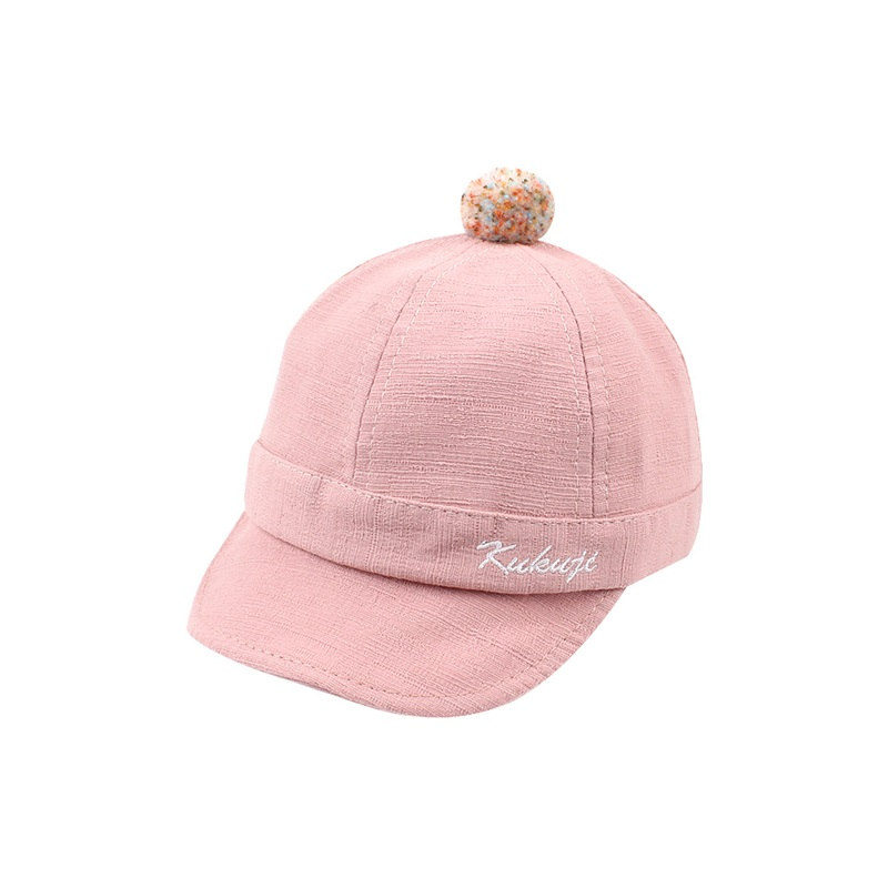 Casual Cotton Baby Caps Infant Toddler Baby Baseball Caps Fashion Boys Sun Caps Cute Girls Hat Autumn 6-24M Baby Boys Clothing (8)