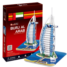 Development of intelligence,Educational toys,good quality,foam,emulational,best gifts,paper model,Sailing hotel,3D PUZZLE