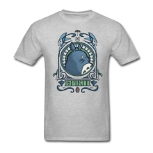 Fitted Big Yards t shirt Site Adult Man art nouveau Shirt with Forest Spirit Nouveau Mens Printing T-Shirt Hot Selling(China)