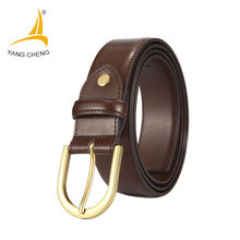 [CNYANGCHENG] Men luxury belts for men high quality pin metal Buckle male strap 2017 Newest Unisex cintos de couro masculino(China)