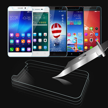 "2PCS Universal 4"" 4.3"" 4.5"" 4.7"" 5"" 5.3"" 5.5"" 5.7"" Tempered Glass Screen Protector For huawei ZTE Highscreen Micromax Prestigio(China)"