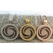 2016 new fashion popular mix color large 33MM coins necklace purse for 35MM coin holders replica collectables set Wedding Gift(China)