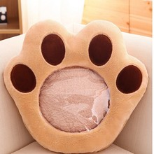 Bear Paw Doll Warm Winter Plush Pillow Can Play The Telephone Kawaii Bolster present Lover Children Toys(China)