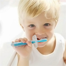 Buy Silicone Kid Teether Training Deciduous Toothbrush Children Baby Infant Brush Tool Teeth Brush Mouth Clean Products Dental Care for $2.19 in AliExpress store