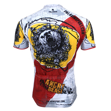 2014 new comic Bears men's angry Bears novelty cycling jersey unique angry Bears cycling clothing cheap bike wear(China)